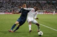Euro 2012: England 1-1France